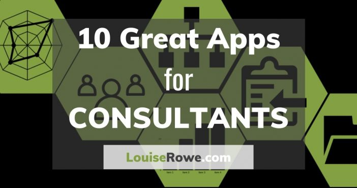 10 Great Apps for Consultants (wide). Photo credit © L Rowe 2020