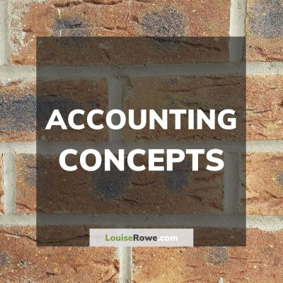 Accounting Concepts (title). Photo credit © L Rowe 2016