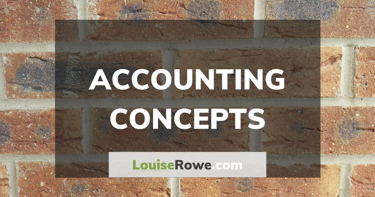 Accounting Concepts (wide). Photo credit © L Rowe 2016