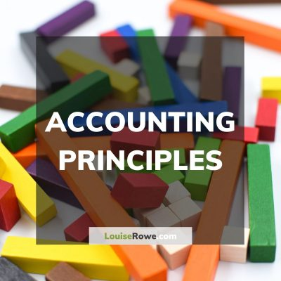 Accounting Principles (title). Photo credit © L Rowe 2016