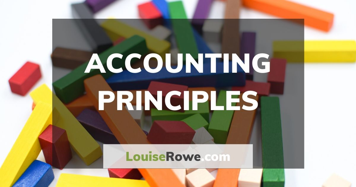 Accounting Principles (wide). Photo credit © L Rowe 2016