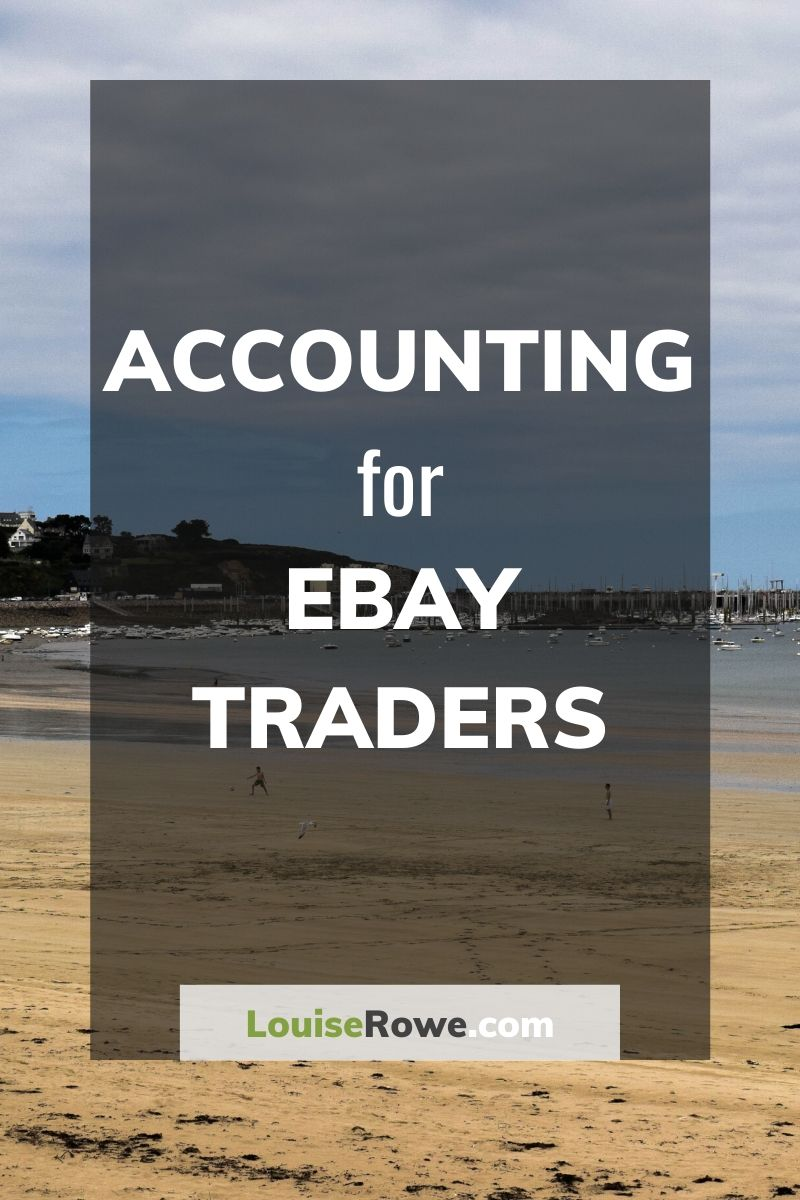 Accounting for Ebay Traders (pin). Photo credit © L Rowe 2019