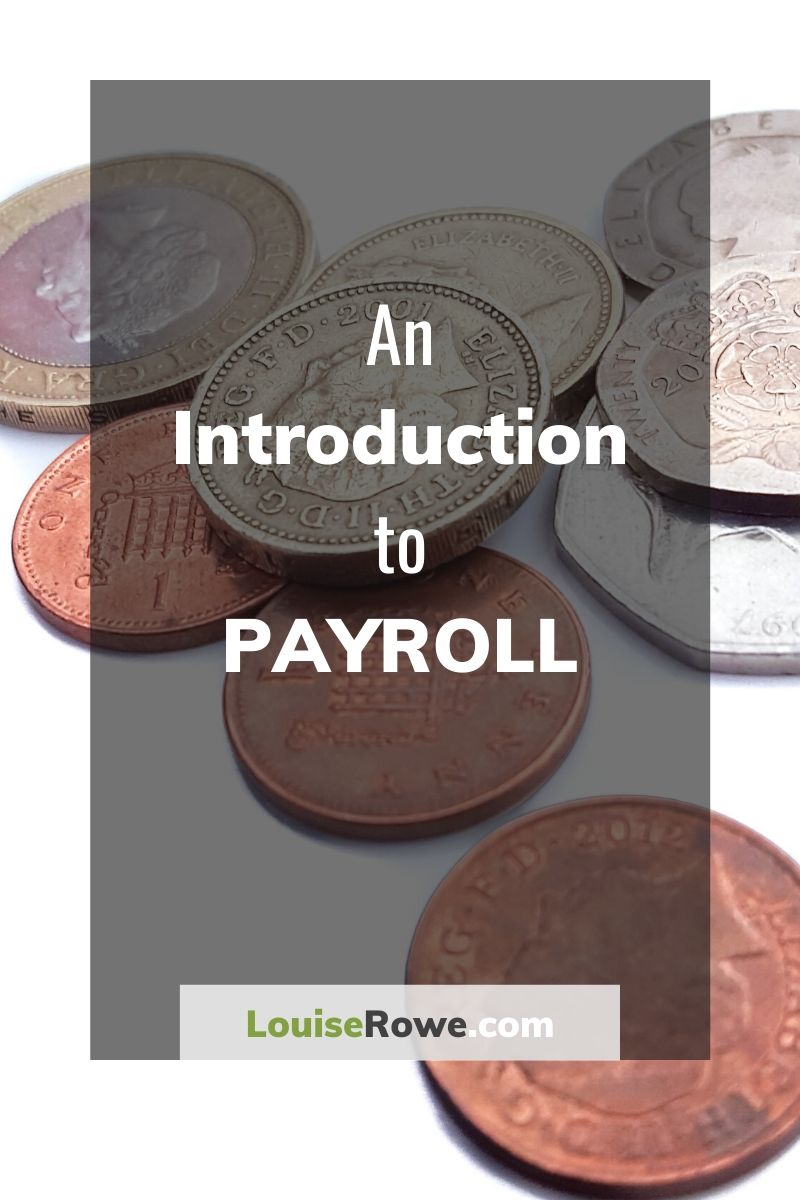 An Introduction to Payroll (pin). Photo credit © L Rowe 2017