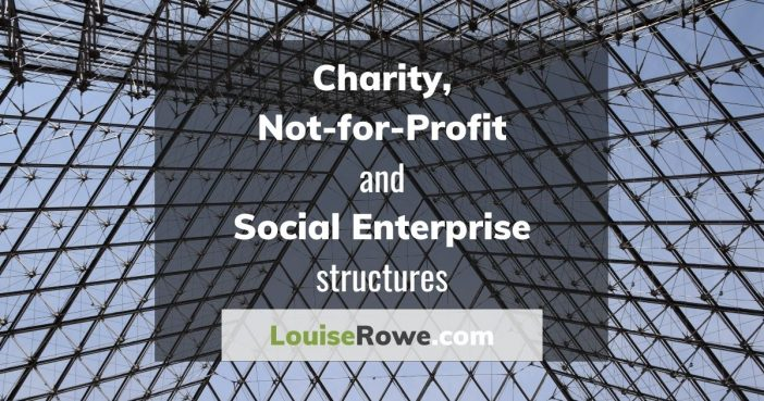 Charity, Not-for-profit and Social Enterprise Structures (wide). Photo credit © L Rowe 2019