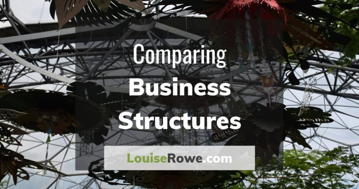 Comparing Business Structures (wide). Photo credit © L Rowe 2020