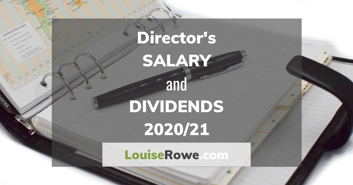 Director's Salary and Dividends 2020/21 (wide). Photo credit © L Rowe 2020