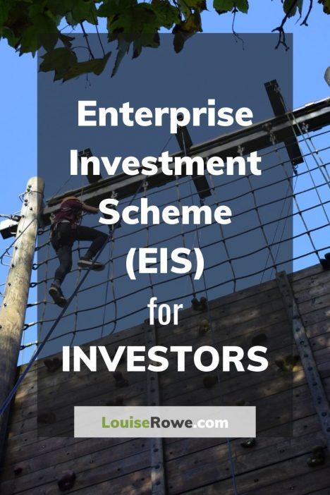 Enterprise Investment Scheme (EIS) for Investors (pin). Photo credit © L Rowe 2017