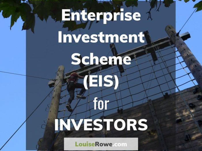 Enterprise Investment Scheme (EIS) for Investors (title). Photo credit © L Rowe 2017