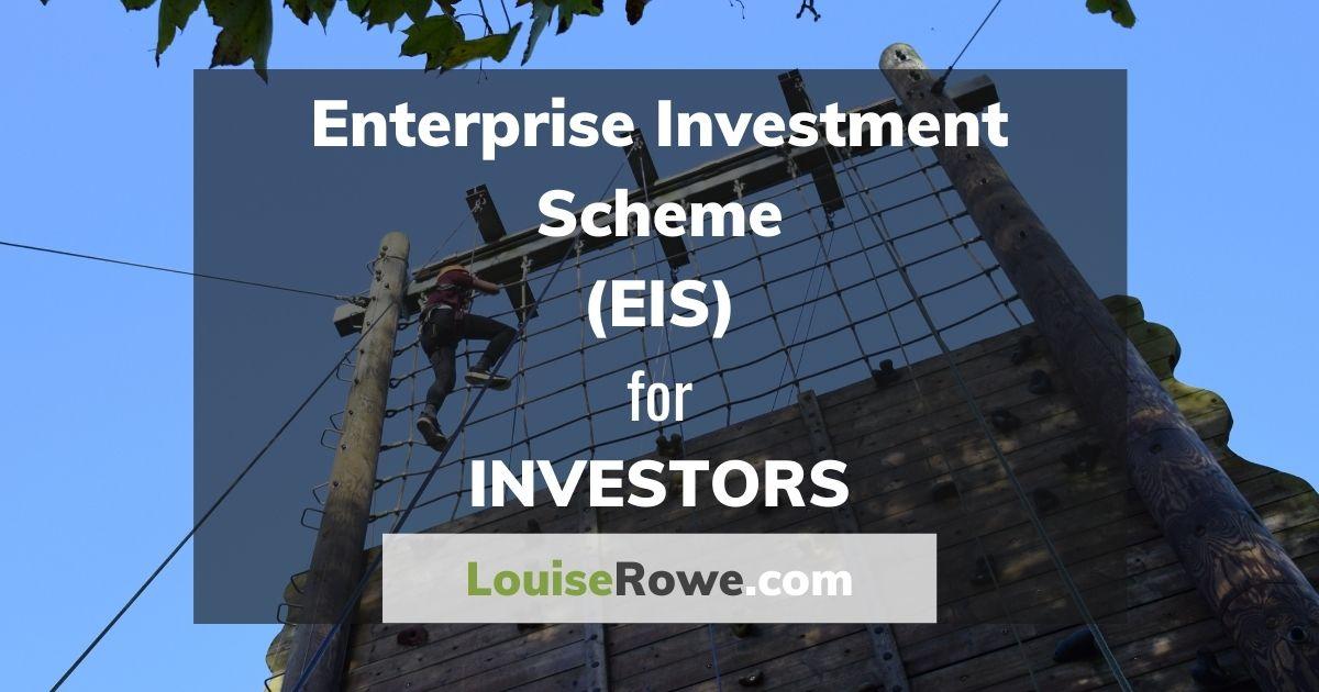 Enterprise Investment Scheme (EIS) for Investors (wide). Photo credit © L Rowe 2017