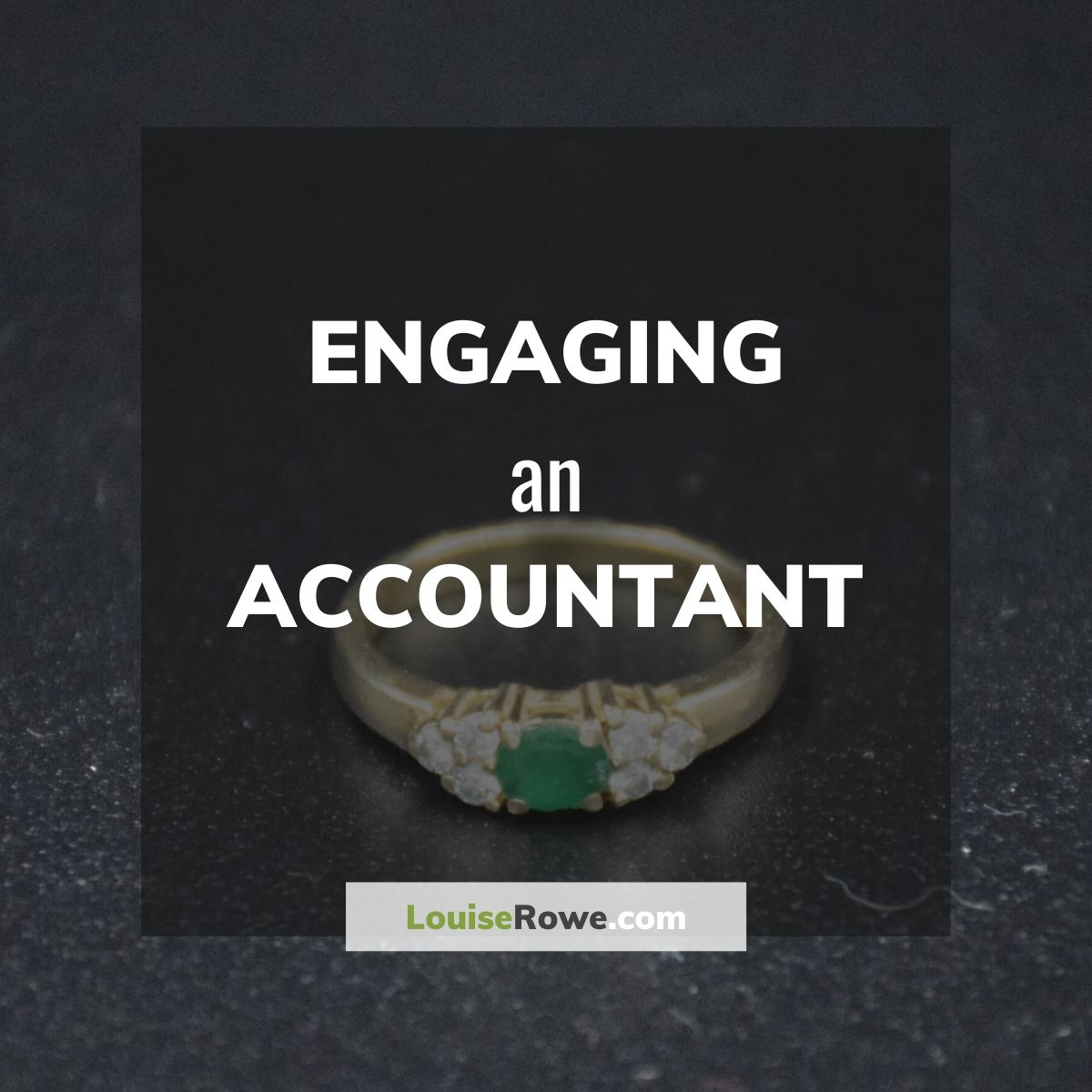 Engaging an Accountant (title). Photo credit © L Rowe 2018