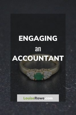 Engaging an Accountant (pin). Photo credit © L Rowe 2018