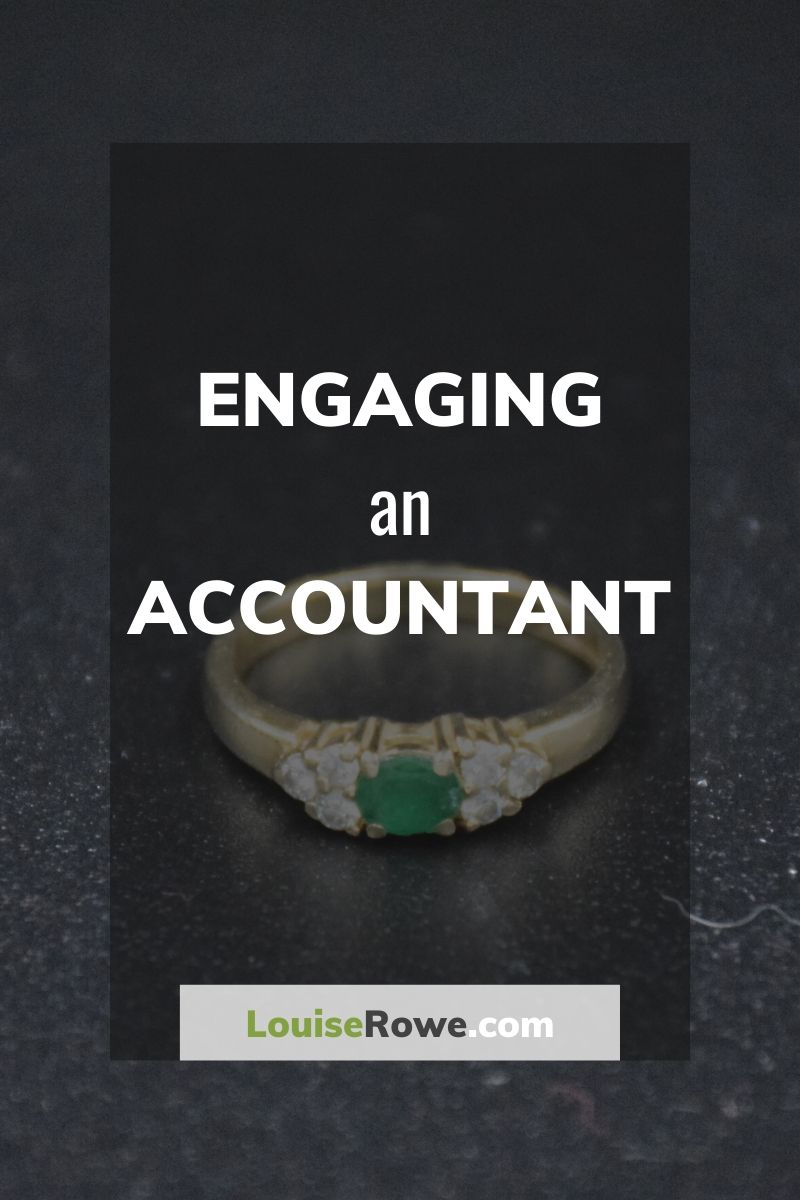 Engaging an Accountant (pin). Photo credit © L Rowe 2018