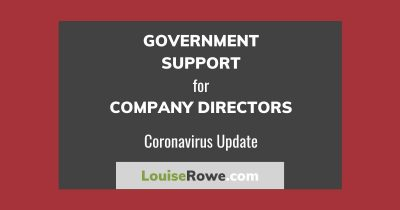 Government Support for Company Directors Coronavirus (wide). Photo credit © L Rowe 2020