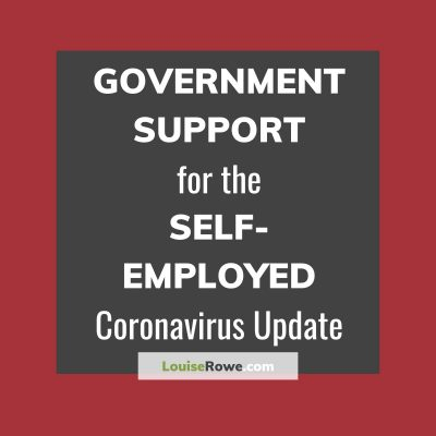 Government Support for Self-Employed Coronavirus (title). Photo credit © L Rowe 2020