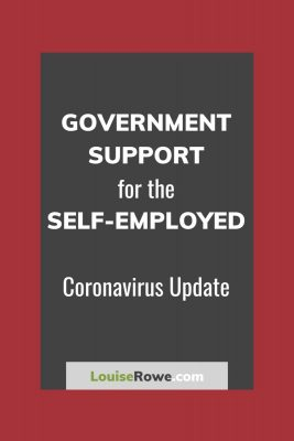 Government Support for Self-Employed Coronavirus (pin). Photo credit © L Rowe 2020