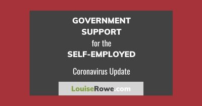 Government Support for Self-Employed Coronavirus (wide). Photo credit © L Rowe 2020