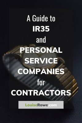 A Guide to IR35 and Personal Service Companies for Contractors (pin). Photo credit © L Rowe 2020