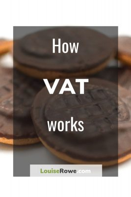 How VAT works (pin). Photo credit © L Rowe 2015