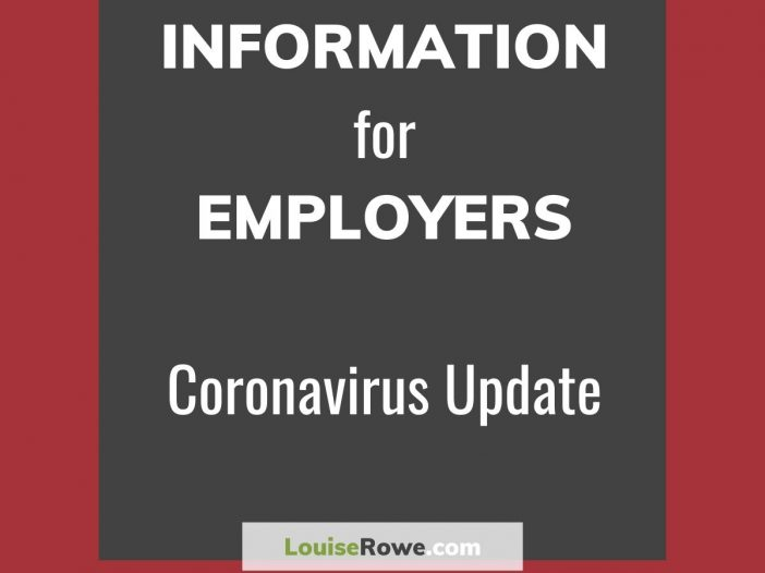 Information for Employers Coronavirus (Title). Photo credit © L Rowe 2020