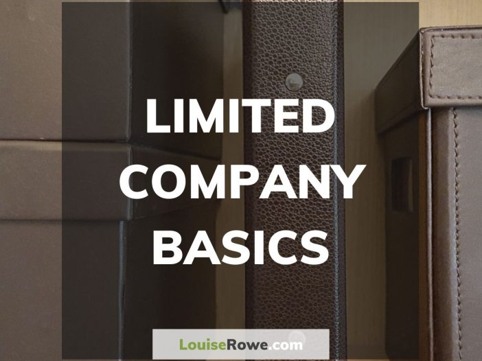 Limited Company Basics (title). Photo credit © L Rowe 2015