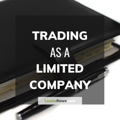 Trading as a Limited Company (title). Photo credit © L Rowe 2016
