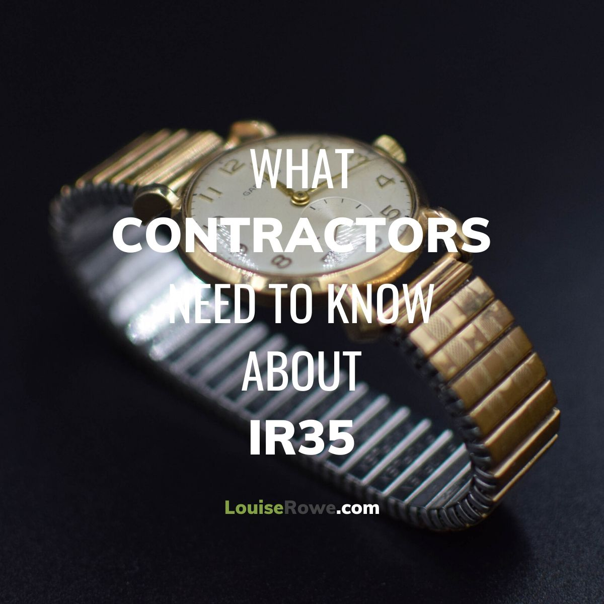 What Contractors Need to Know About IR35 (title). Photo credit © L Rowe 2017