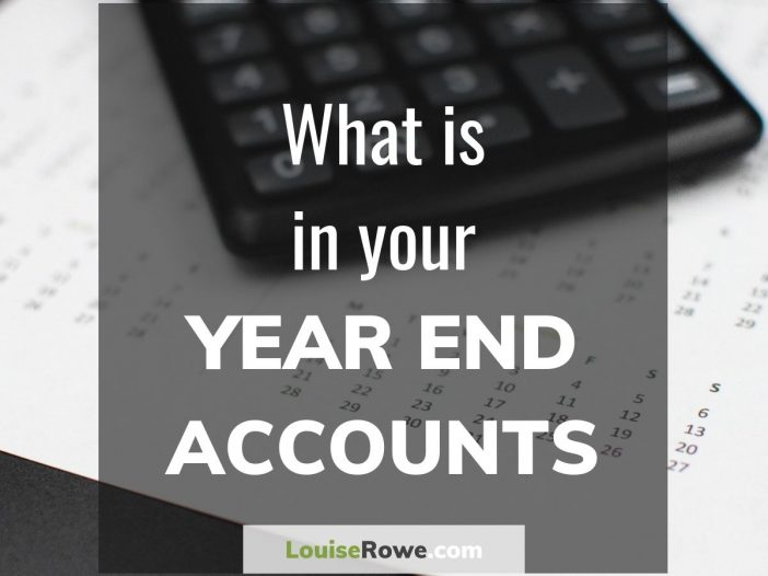 What is in your Year End Accounts (title). Photo credit © L Rowe 2017